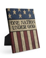One Nation Under God 8x10 Easel-Back Gallery Wrapped Canvas thumbnail
