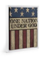 One Nation Under God 11x14 White Floating Framed Canvas Prints thumbnail