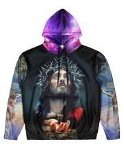 I believe in GOD Men's All Over Print Hoodie front