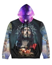 I believe in GOD Women's All Over Print Hoodie thumbnail