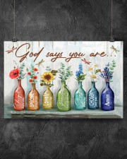 God says you are 17x11 Poster aos-poster-landscape-17x11-lifestyle-12