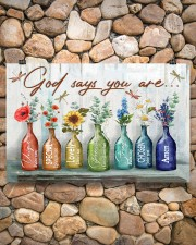 God says you are 17x11 Poster aos-poster-landscape-17x11-lifestyle-15