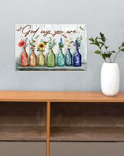 God says you are 17x11 Poster poster-landscape-17x11-lifestyle-24