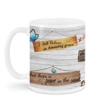 The Old Rugged Cross Mug back