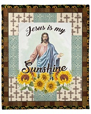 "Jesus Is My Sunshine Fleece Blanket - 50"" x 60"" thumbnail"