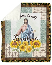 "Jesus Is My Sunshine Sherpa Fleece Blanket - 50"" x 60"" thumbnail"