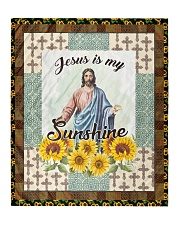 "Jesus Is My Sunshine Quilt 50""x60"" - Throw front"