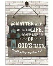 Don't let go of god's hand 11x17 Poster front
