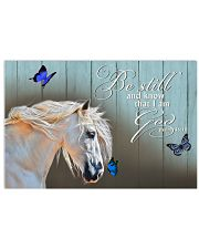 Be still and known that i am God Horizontal Poster tile