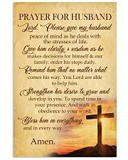 Prayer For Husband 11x17 Poster front