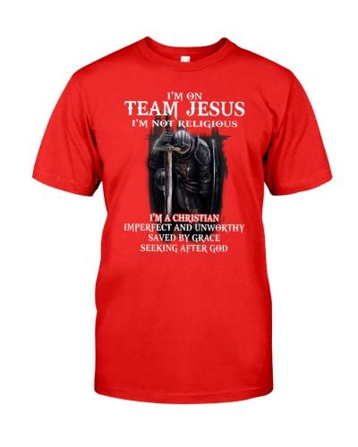 Im on team JESUS