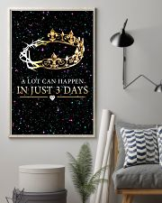 A LOT CAN HAPPEN IN JUST 3 DAYS 16x24 Poster lifestyle-poster-1
