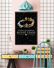 A LOT CAN HAPPEN IN JUST 3 DAYS 16x24 Poster lifestyle-poster-6