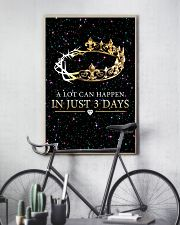A LOT CAN HAPPEN IN JUST 3 DAYS 16x24 Poster lifestyle-poster-7