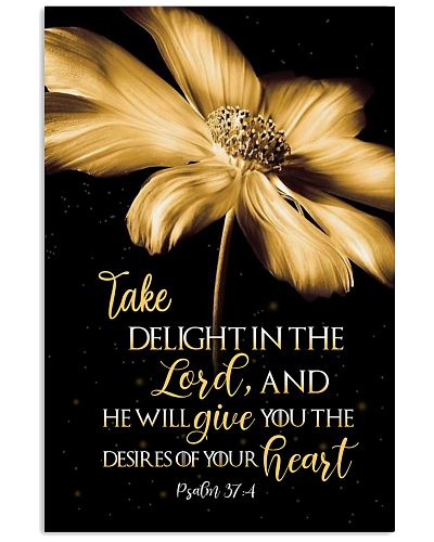 Take delight in the Lord