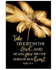 Take delight in the Lord 11x17 Poster front