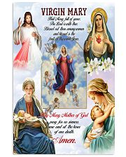 Virgin Mary 11x17 Poster front