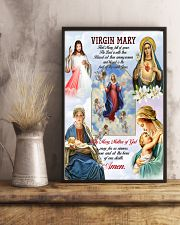 Virgin Mary 11x17 Poster lifestyle-poster-3