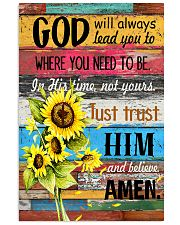 Just trust him and believe 11x17 Poster front