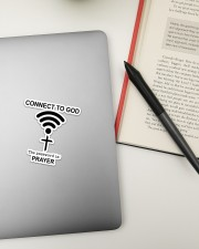 Connect To GOD Sticker - Single (Vertical) aos-sticker-single-vertical-lifestyle-front-18