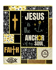"""Jesus Is The Anchor Of my Soul Quilt 50""""x60"""" - Throw front"""