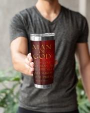 Man Of GOD 20oz Tumbler aos-20oz-tumbler-lifestyle-front-15