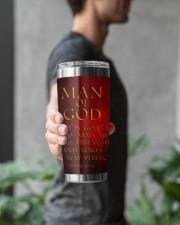 Man Of GOD 20oz Tumbler aos-20oz-tumbler-lifestyle-front-16