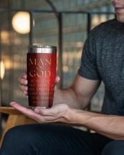 Man Of GOD 20oz Tumbler aos-20oz-tumbler-lifestyle-front-18