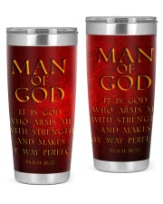 Man Of GOD 20oz Tumbler front
