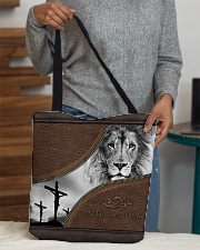 Faith Over Fear All-over Tote aos-all-over-tote-lifestyle-front-10