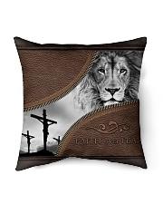 """Faith Over Fear Indoor Pillow - 16"""" x 16"""" thumbnail"""