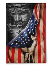 """Limited Edition  11.5""""x17.5"""" Garden Flag front"""