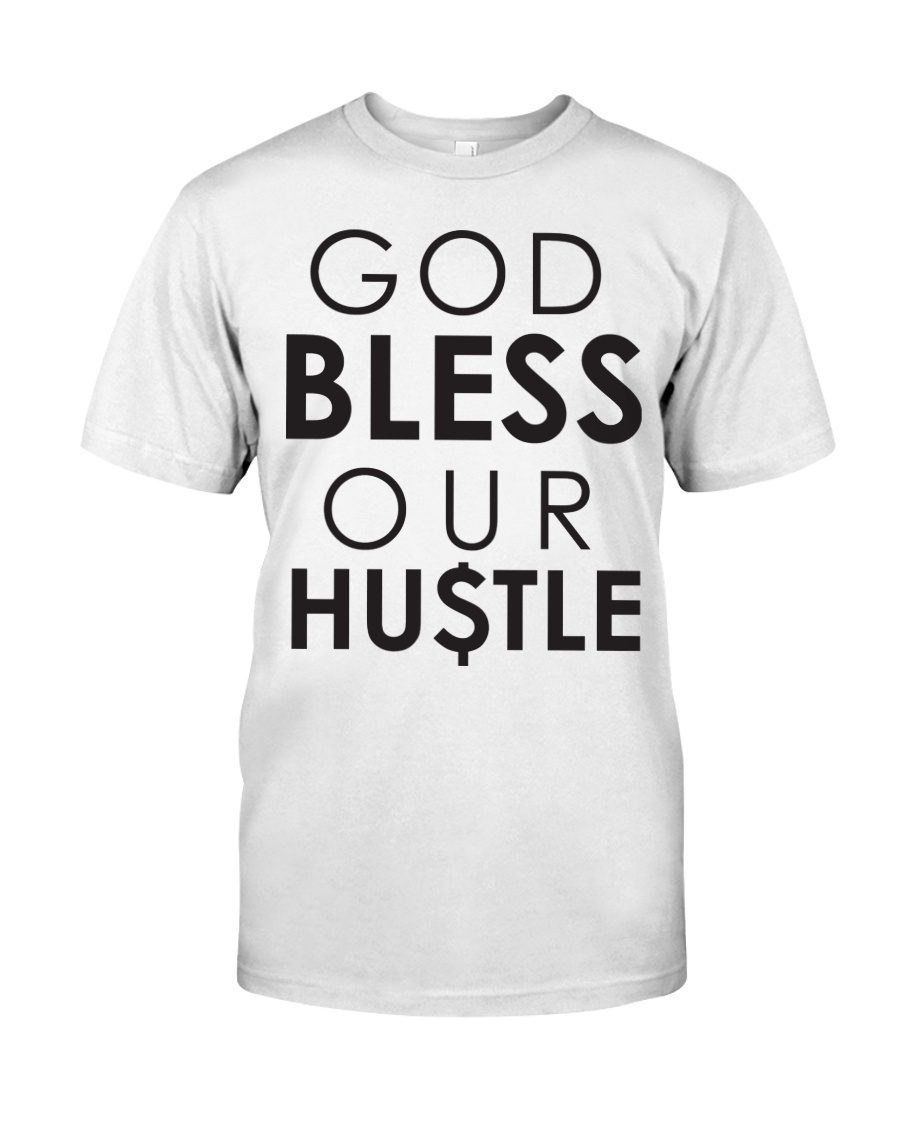 God Bless Our Hustle Premium Fit Mens Tee