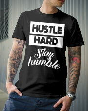 Hustle Hard Stay humble Premium Fit Mens Tee lifestyle-mens-crewneck-front-6