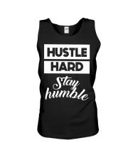Hustle Hard Stay humble Unisex Tank thumbnail