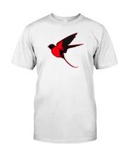 Red Cardinal Bird Classic T-Shirt thumbnail