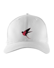 Red Cardinal Bird Embroidered Hat thumbnail