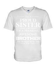 Proud Sister V-Neck T-Shirt thumbnail