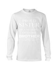 Proud Sister Long Sleeve Tee thumbnail