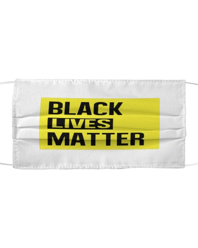 Black Lives Matter alternate design Face Mask