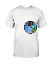 Travis Scott Astroworld Europe 18' Smiley World T- Classic T-Shirt front
