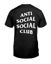 BIGBANG G-DRAGON Anti Social Club Paranoid Hoodies Classic T-Shirt back