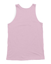callate blanca All-over Unisex Tank back