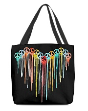 Peace Sign Heart All-over Tote thumbnail