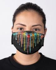 Peace Sign Heart Cloth face mask aos-face-mask-lifestyle-01