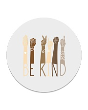 Be Kind Sign Language Hand Talking Teachers Circle Coaster thumbnail
