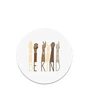 Be Kind Sign Language Hand Talking Teachers Circle Magnet tile