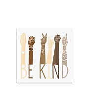Be Kind Sign Language Hand Talking Teachers Square Magnet thumbnail