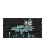 Let it be Cloth face mask front