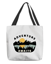 Camping Adventure Awaits Quote Love Camp Summer  All-over Tote thumbnail